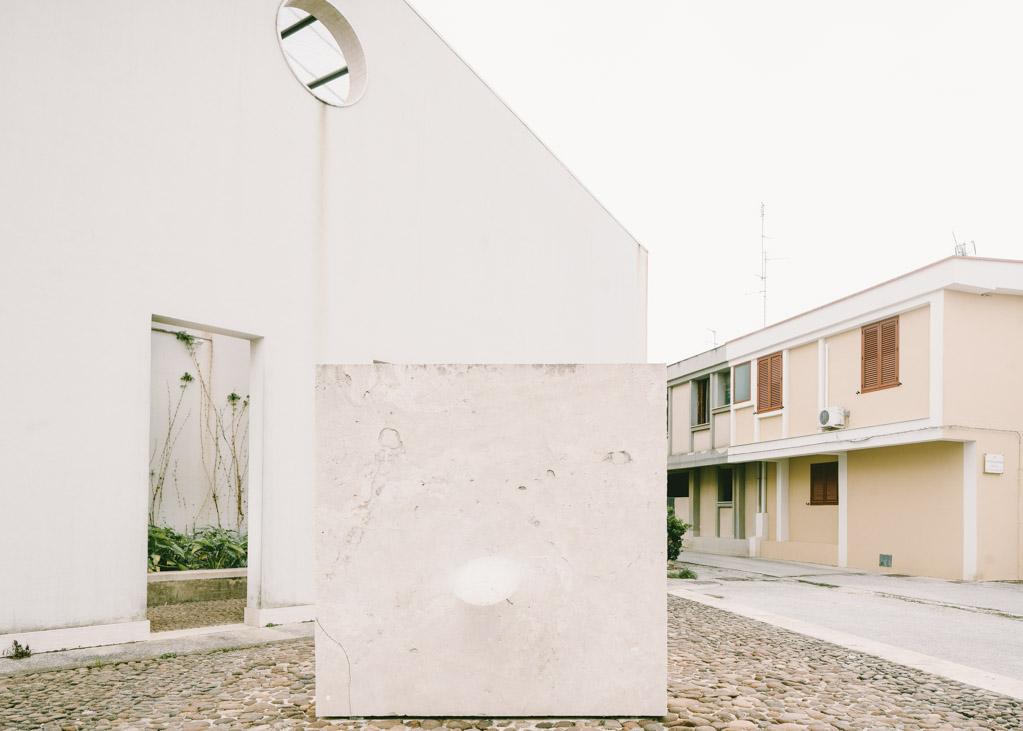 Gibellina Nuova ricostruzione terremoto Belice 1968